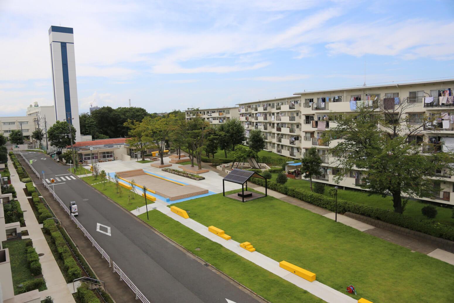 Sakonyama Minna no Niwa (The Park of Sakonyama Housing Complexes)