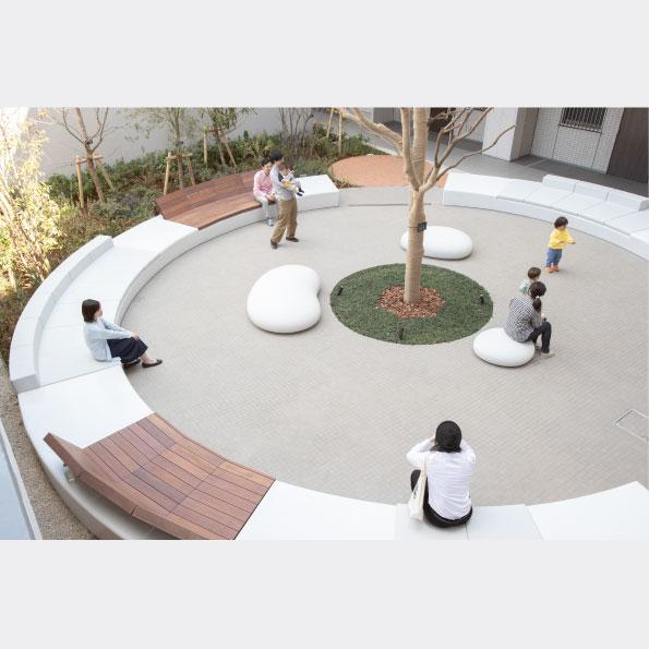 """Duo Hills Minami-Machida"" appears in a Japanese magazine 'Landscape Design'"